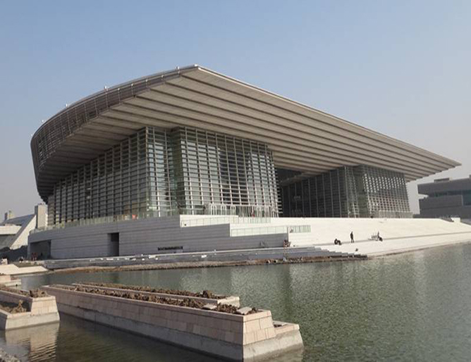 Tianjin cultural center grand theatre()