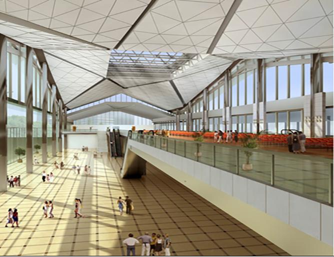 Wenzhou Railway Station(7000㎡)